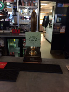 Brew Foundation hand pump at Hallam HUBS