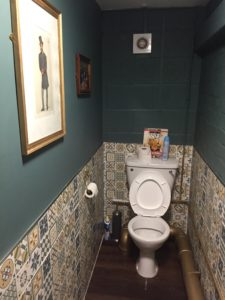 Ecclesall Ale Club toilet