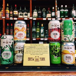 Craft Beer Brew York cans